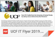 UCF Course Flyer 2019